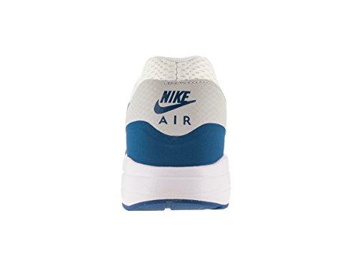 NIKE Herren Air Max 1 Ultra Essential Laufschuh Weiß / Pure Platinum / Vrsty Blau
