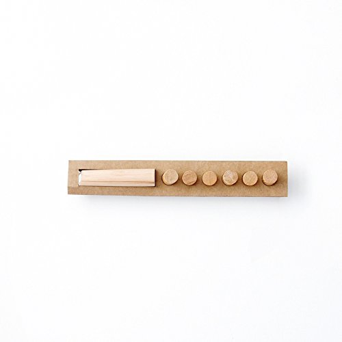 Everboards Hook and Pins Accessories - Wooden Magnetic Organizer - Inspiring Living Room Decorating Ideas - New Convenient Pegboard (Ideas Large Wall Decorating)
