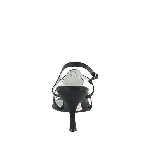 Textile Sandalias Para Lexus Black Negro Vestir De Mujer pqx046
