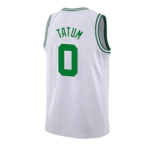 Jayson Tatum Boston Celtics 2018-2019 Temporada NBA Baloncesto Jersey Lebron James Kyrie Irving Kevin Durant Stephen Curry Lakers Cohetes Guerreros ...
