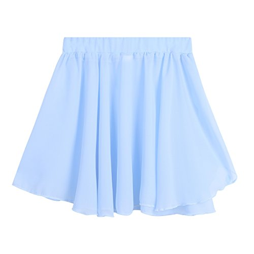 Light Girls Skate Blue TiaoBug Ballet Tutu Dress Skirt Dancewear Costume Kids Toddler Dance Ballerina 7d4WBvqdOr