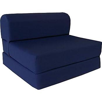 Prime Amazon Com Dd Futon Furniture Gray Sleeper Chair Folding Pdpeps Interior Chair Design Pdpepsorg