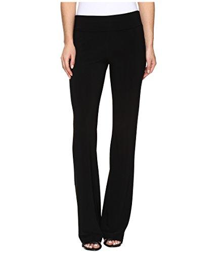 KAMALIKULTURE by Norma Kamali Women's Boot Pants Black Pants by KAMALIKULTURE