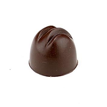 Policarbonato Bonbon molde para Chocolate (mitad esfera con ranuras): Amazon.es: Hogar