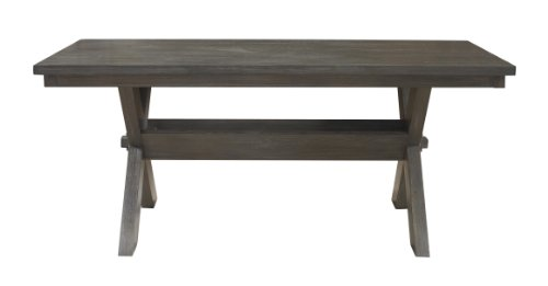 Powell Turino Rectangle Dining Table (Mission Trestle Dining Table)