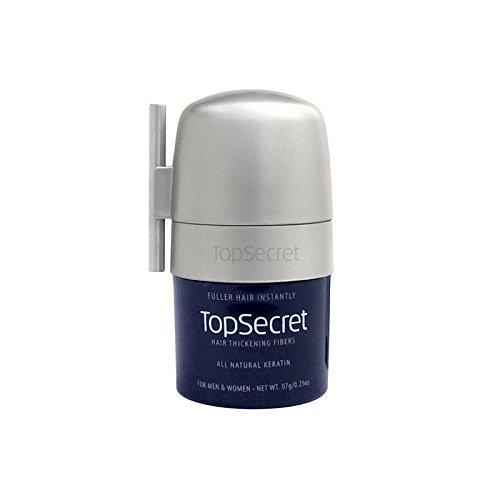 Top Secret Hair Thickening Fibers - Compact Design! Black (.25 OZ.) by Top Secret (Image #3)