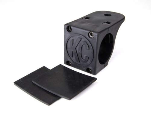 KC HiLiTES 7307 Tube Clamp Mount Bracket for 1.75″ to 2″ Diameter Round Light Bars and Roof Racks