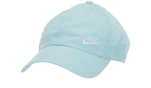 Nike W NSW H86 Cap Futura Classic Gorra, Mujer, Teal Tint/White ...