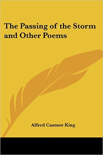 Book The Passing of the Storm and Other Poems