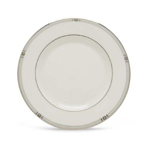Lenox Westerly Platinum Bone China Salad - Plate Salad Platinum China