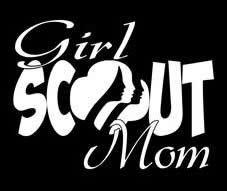 Amazoncom Girl Scout Mom White VINYL Car Decal Art Wall - Cool car stickers for girls