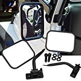 4x4 Safari Mirrors For Jeep Wrangler