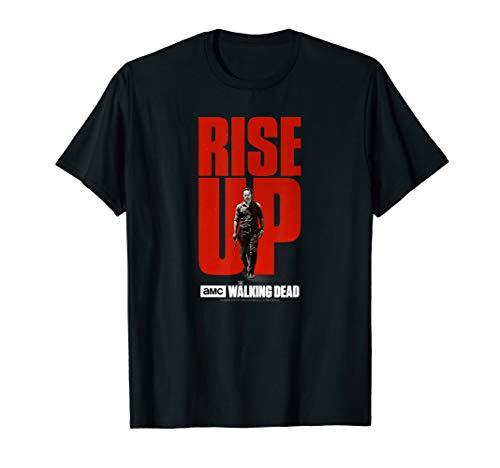 The Walking Dead Rise Up Rick T-Shirt (Walking Mens Tee)