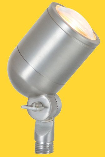 Corona Lighting CL-545B-SI 50W Low Voltage Brass Mini Bullet Directional Light - Silver Corona Lighting Accessories