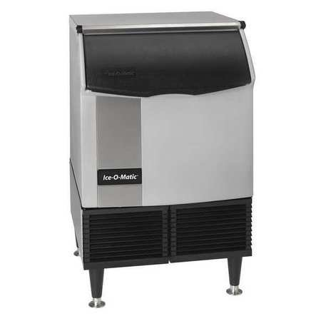 Air Cooled Ice Machine - Ice O Matic Undercounter Ice Maker Full Cube Air Cooled 174lbs/day - ICEU150FA