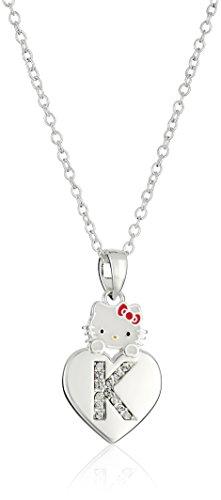 Hello Kitty Girls' Crystal and Enamel