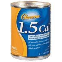 Glucerna 1.5 Cal Snack Shake, 53534, Vanilla, 8-Ounce Can, Case of 24