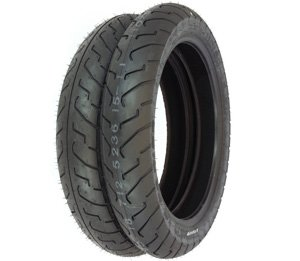 Tires Only Compatible with Yamaha RD350 XS360 Shinko 712 Tire Set