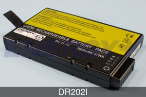 FedCo Batteries Compatible with ENERGY DR202I Replacement Battery Pack For Clevo Gericom Micron Sager Samsung