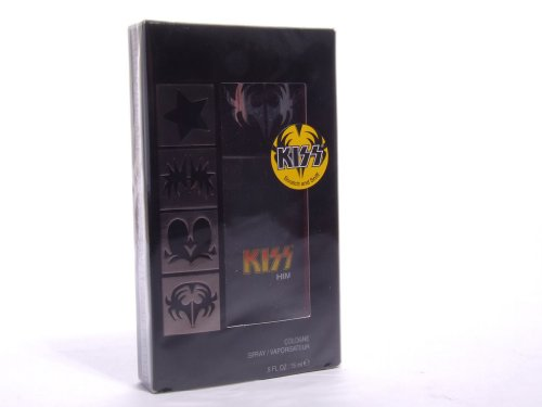 (KISS Him Cologne Spray, .5 fl. oz. (15 ml))
