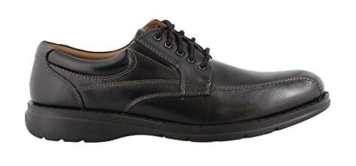 Dockers Men's Trustee 2.0 Moc Toe Oxford Black Polished Full Grain 11.5 EE US ()