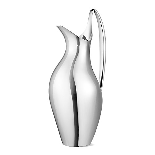 Georg Jensen Georg Jensen Henning Koppel Polished Steel Pitcher by Georg Jensen (Image #4)