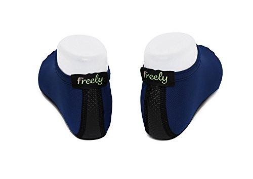 Surf Socks Swim Exercise Beach Aqua Shoes Skin Yoga Barefoot Water For Navy Freely g8qXzaX