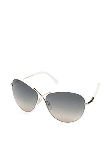 Tom Ford Women's TF0344 Sunglasses, Shiny Rose - Gold Tom Rose Ford