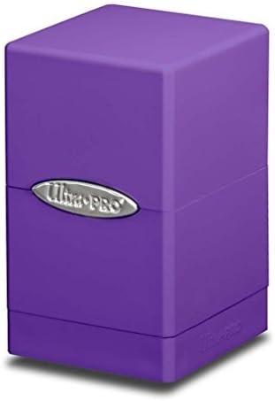 Ultra Pro MTG - Caja de Almacenamiento con Compartimentos para Videojuegos, Color Morado: Amazon.es: Hogar