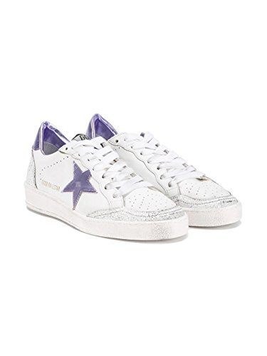 Golden Goose Sneakers Donna G30WS592D9 Pelle Bianco/Viola