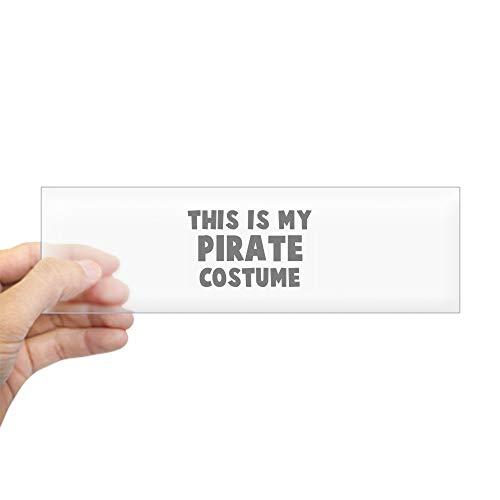 (CafePress Pirate Costume Bumper Sticker 10
