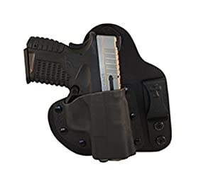 CrossBreed Holsters - Appendix Carry (IWB) Holster for Glock 43 - Black - RH