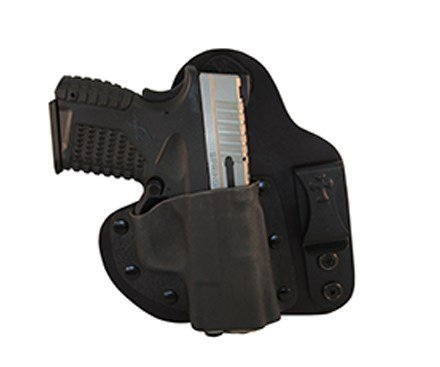 CrossBreed Holsters - Appendix Carry (IWB) Holster for S&W M&P Shield 9/40 - Black - RH