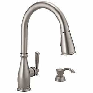 Delta 19962z Sssd Dst Charmaine Single Handle Pull Down
