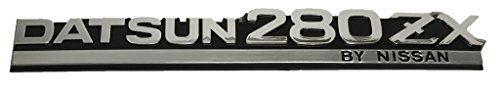 x1 New Vintage Style DATSUN 280ZX Emblem Replaces OEM Z Series 240Z 260Z 90880-P7101 (Datsun Z Emblem compare prices)