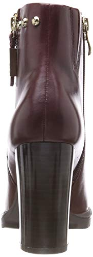 560 bord Rouge Femme waxy 25410 Bottes Caprice Nap wC0In8qF