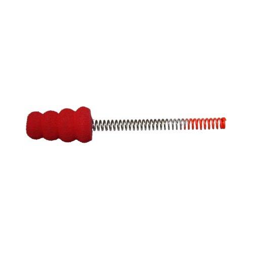 Spring Frabill Bobber (HT Enterprise Slab Stopper Spring Bobber-Pack of 2, Micro, Red)