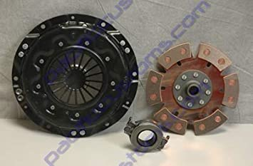 H.D 200mm Clutch Kit Kennedy Stage 3 Pressure Plate 6 Puck Disc And Late Throw Out Bearing
