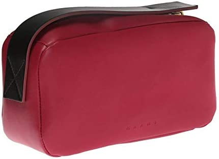 Marni Two-Tone Clutch Bag Dry Rose Borsa Pochette