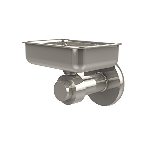 Allied Brass 932-PNI Mercury Collection Wall Mounted Soap Dish Polished ()