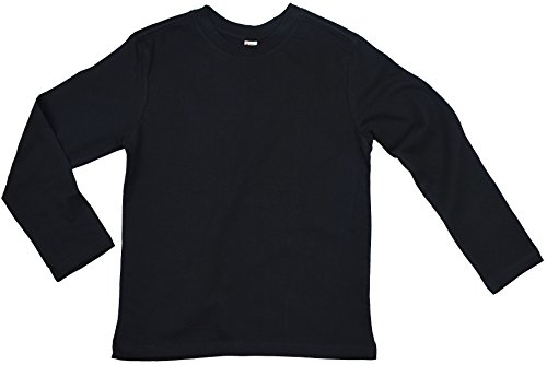 Earth Elements Big Kid's (Youth) Long Sleeve T-Shirt Small Black
