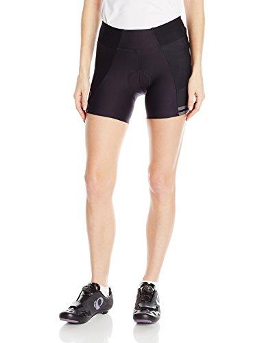 Pearl iZUMi Women's Elite Escape Half Shorts, Black, Medium