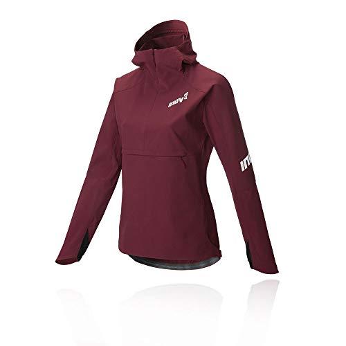 Inov8 Softshell Half Zip Womens Running Jacket - Purple-M