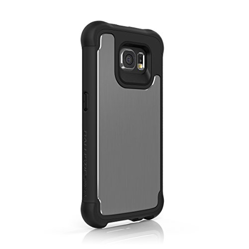 (Galaxy S6 Case, Ballistic [Tungsten Tough Series] Ultra Protective 7 Ft.Drop Test Certified Protective Case for Samsung Galaxy S6 Brushed Onyx and Gray)