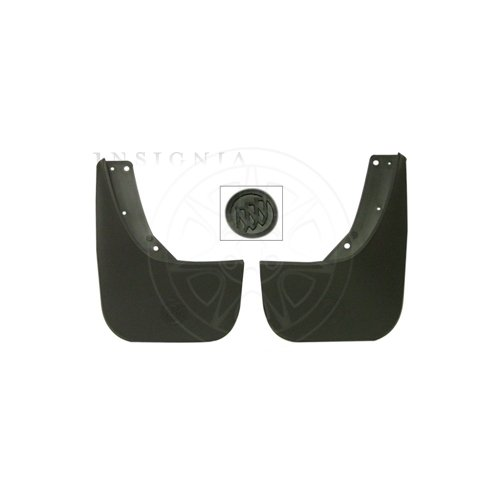 rne GM Rear Molded Splash Guards - 17801259 ()