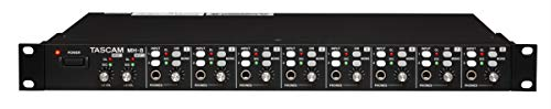 Tascam MH-8 Ultimate Headphone Amplifier with 8 Stereo 1/4