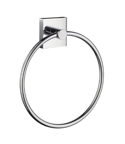 Smedbo House Towel Ring RK344 Polished Chrome .Include Glue.Fixing Without Drilling