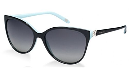 Tiffany TF4089B 8055-3C Black TF4089B Cats Eyes Sunglasses Lens Category 2 - Sunglasses Eye Tiffany Cat