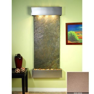 Adagio IFS1541 Inspiration Falls - Bronze Mirror Wall Fountain