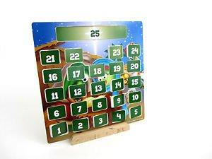 Veggie Tales Wood Advent Calendar Display Set (00538) by VeggieTales (Image #1)